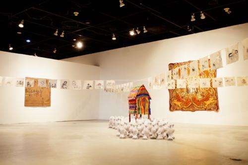 shroud exhibition view